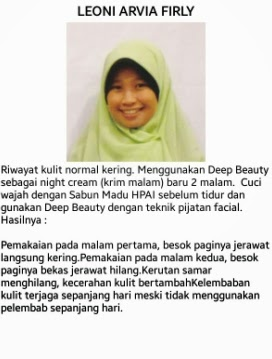 testimoni deep beauty